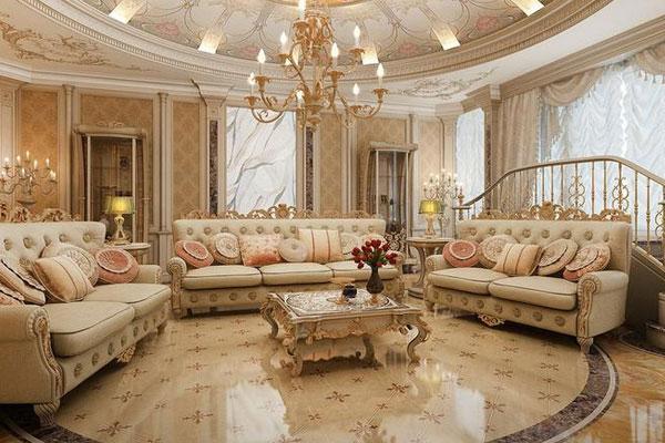 thiết kế nội thất theo phong cách pháp