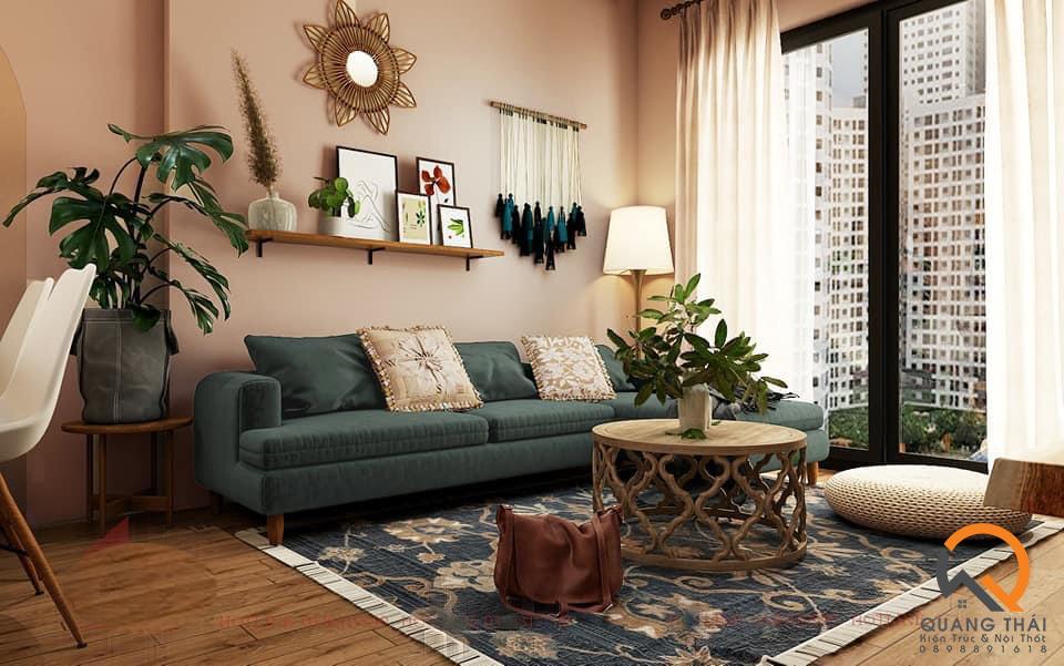Hầu hết nội thất handmade đều có cấu trúc đơn giản